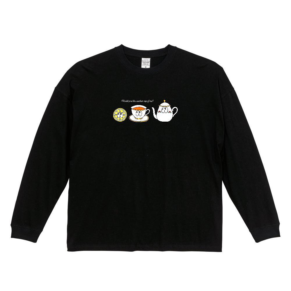 紅茶/モンスター ビッグシルエットロングスリーブTシャツ