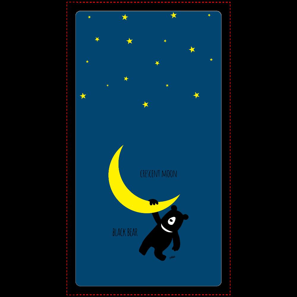 三日月とツキノワグマ cheero モバイルバッテリー(5000mAh)