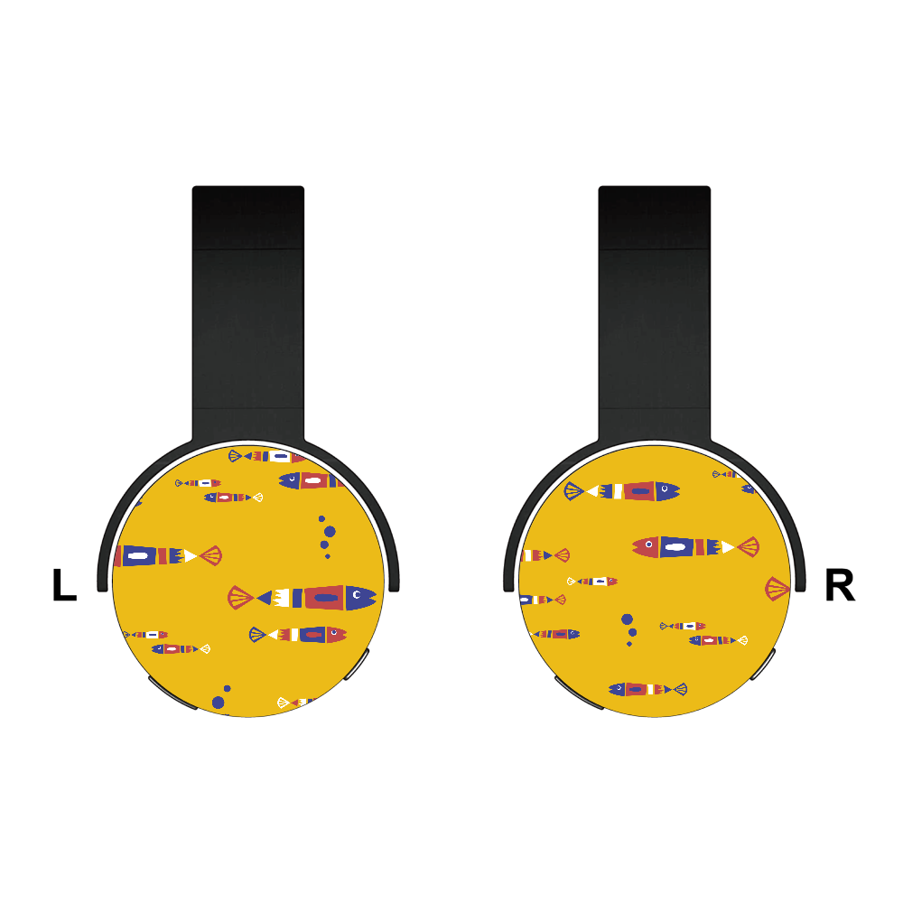 レトロフィッシュ Bluetoothヘッドフォン