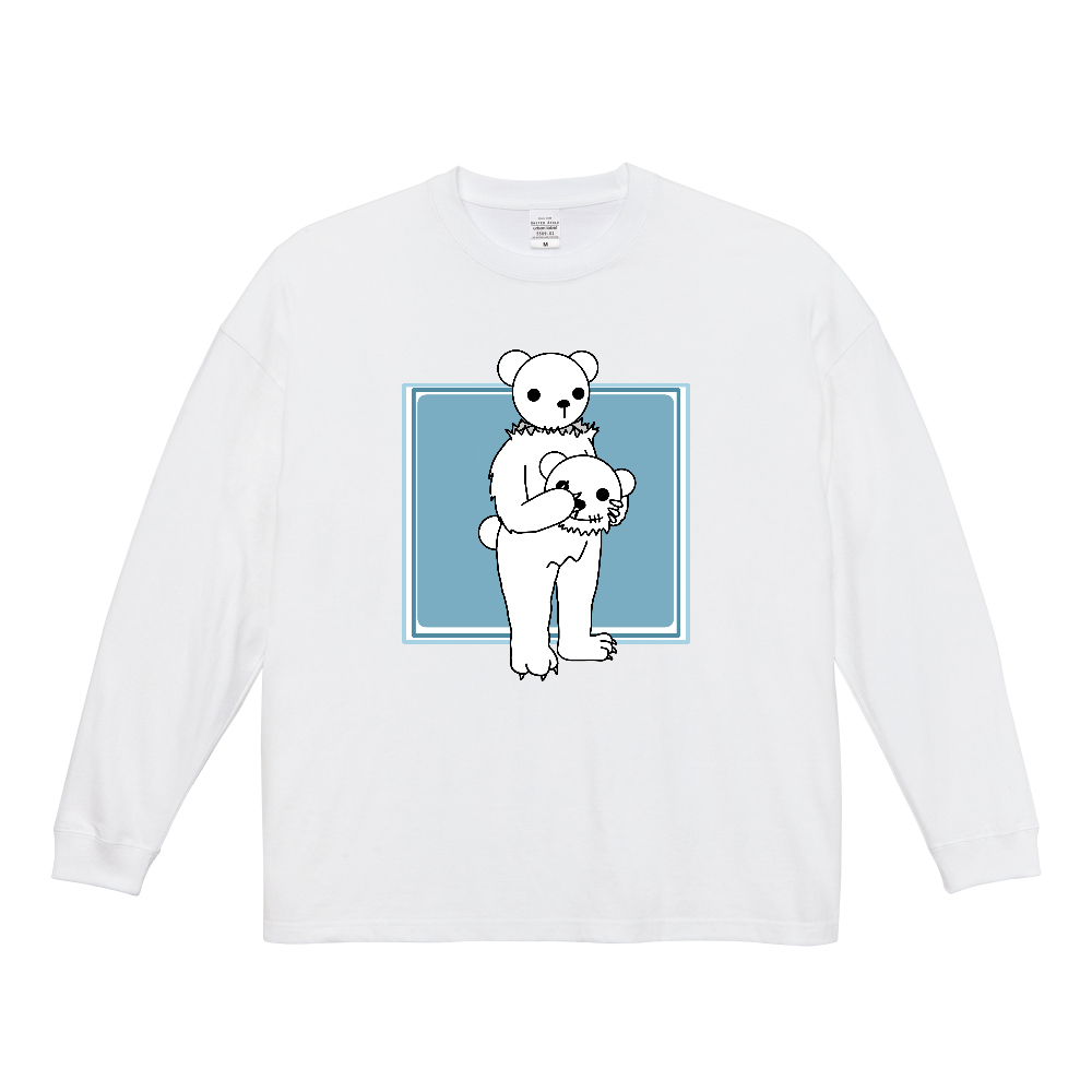 BEAR in BEAR ビッグシルエットロングスリーブTシャツ