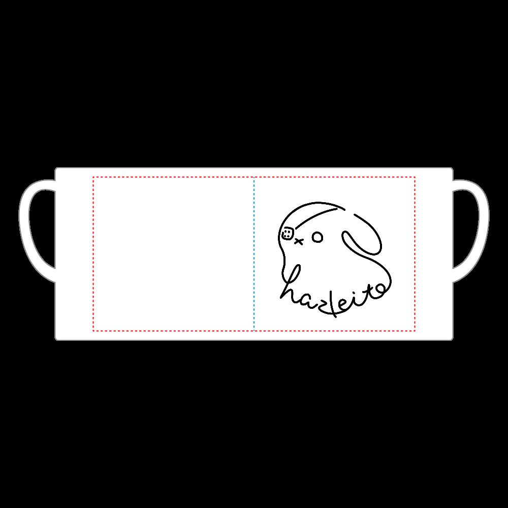 はずれいとロゴマグカップ 陶器マグストレート(M)