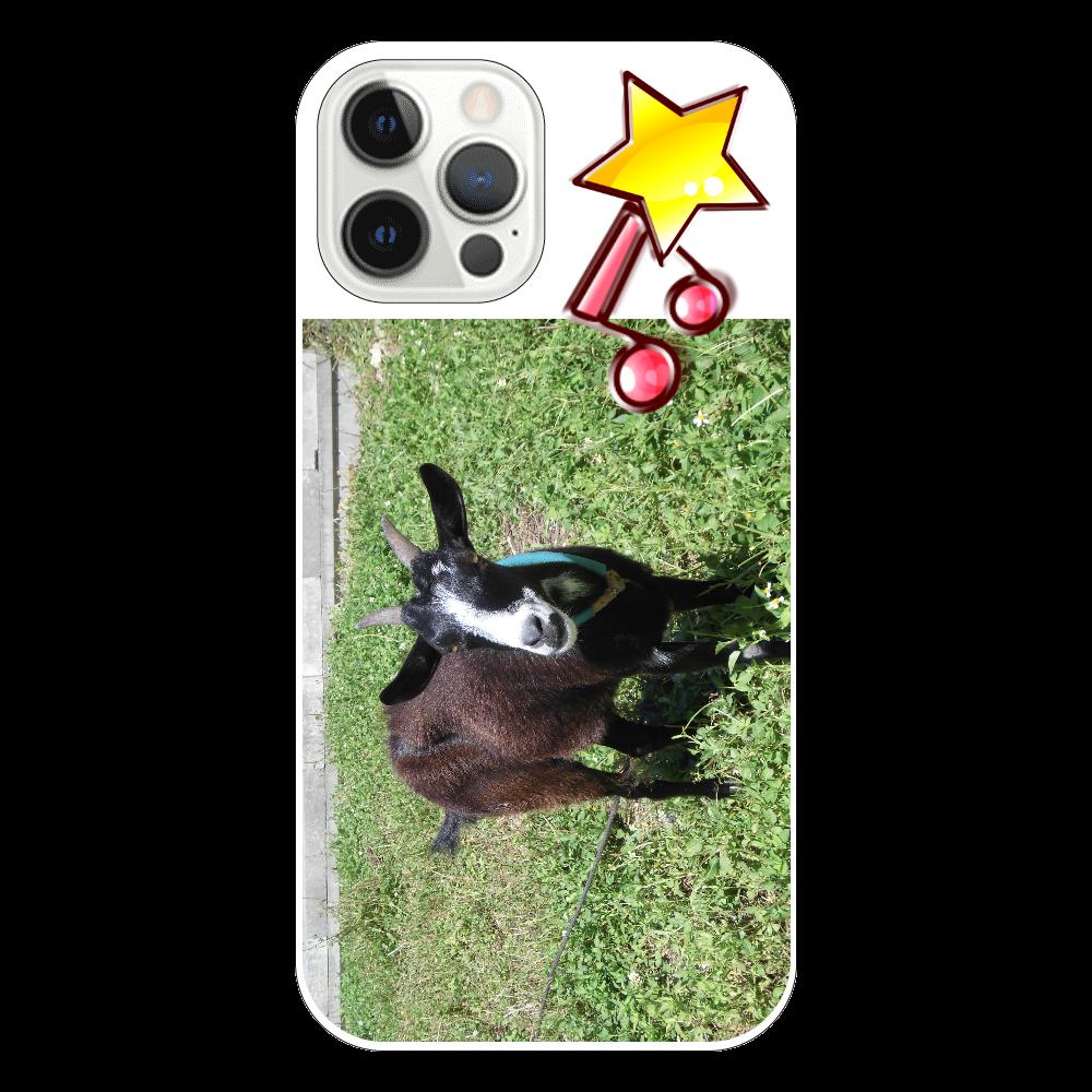 黒ヤギさん iPhone12 Pro iPhone12 Pro(透明)
