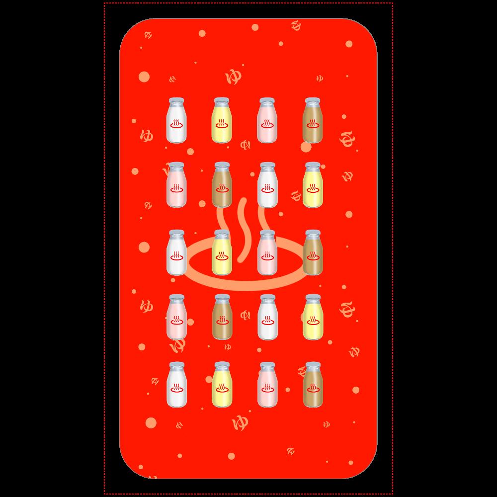 牛乳達 温泉・銭湯バージョン モバイルバッテリー 残量表示付きモバイルバッテリー(4000mAh)