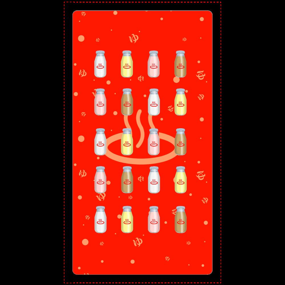 牛乳達 温泉・銭湯バージョン モバイルバッテリー cheero モバイルバッテリー(5000mAh)
