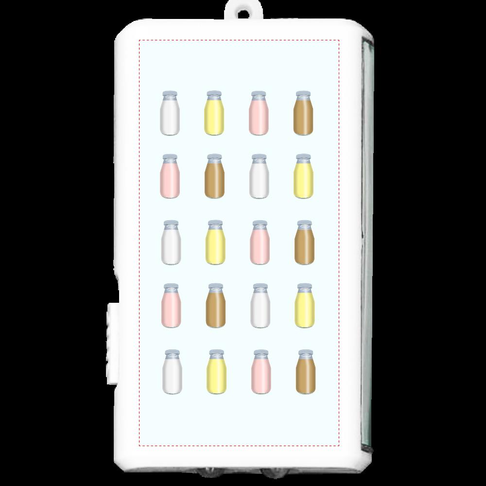 牛乳達-プレーンバージョン フラットライト オリジナルフラットライト(カラビナ付)
