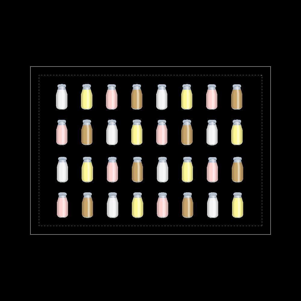 牛乳達-プレーンバージョン ブランケット  ブランケット - 700 x 1000 (mm) - ポリエステル