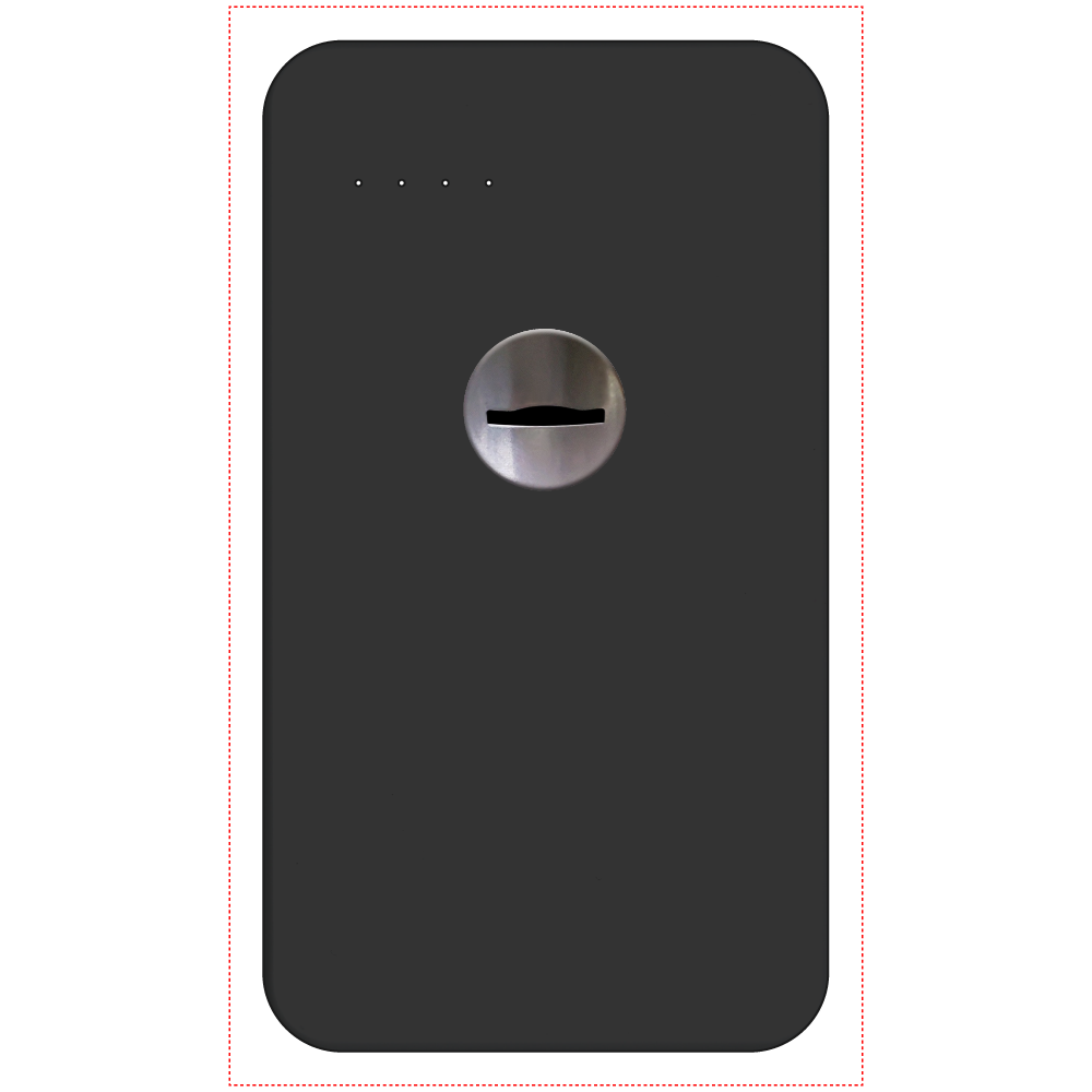 コイン投入口 モバイルバッテリー 残量表示付きモバイルバッテリー(4000mAh)