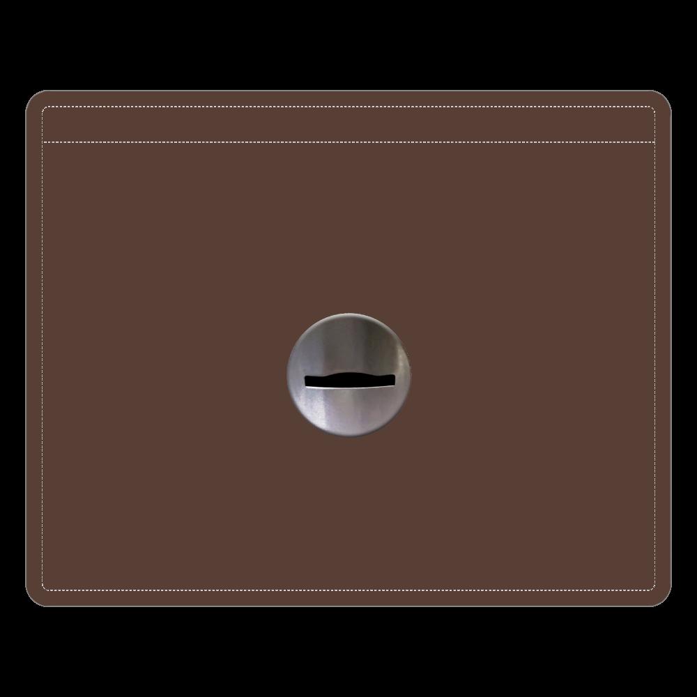 コイン投入口 レザーIDカードホルダー レザーIDカードホルダー(ネックストラップ付)