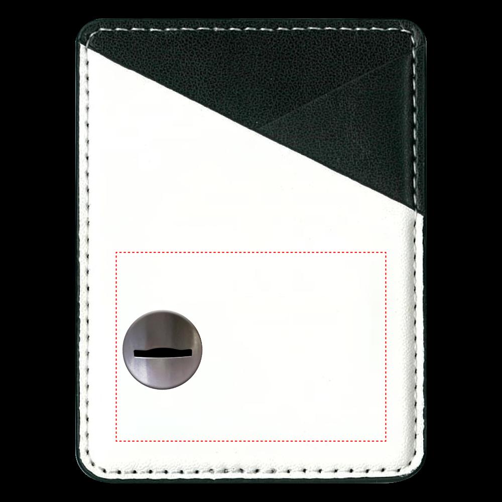 コイン投入口 パスケース 貼り付けパスケース(スマホ用)