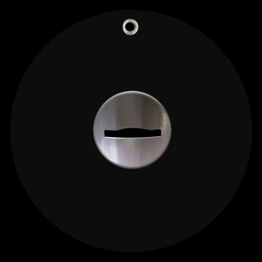 コイン投入口 ミラー スライドアクリルミラー ラウンド