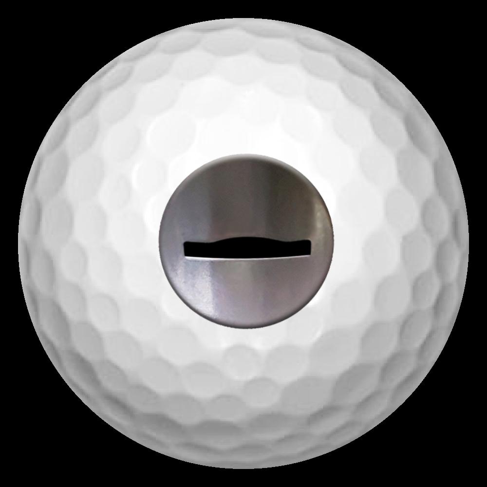 コイン投入口 ゴルフボール ゴルフボール(3個セット)