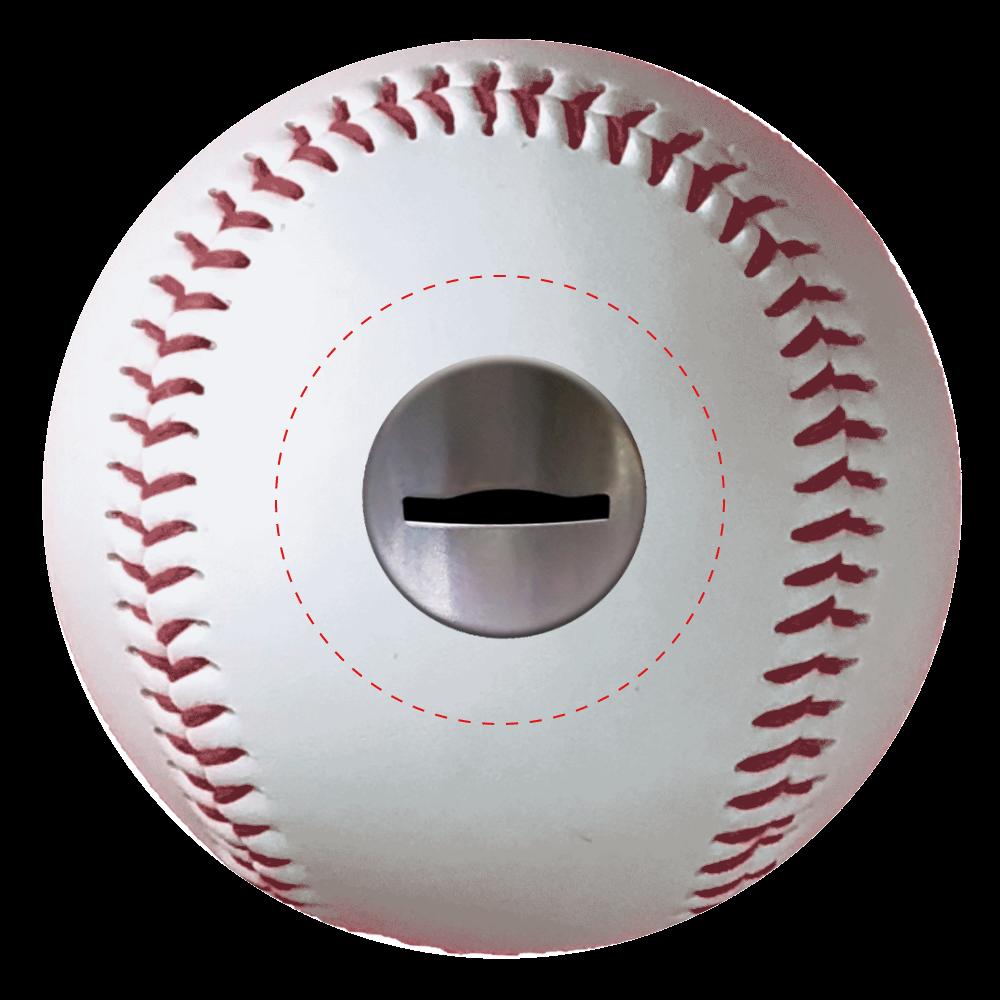 コイン投入口 野球ボール 野球ボール(硬式)