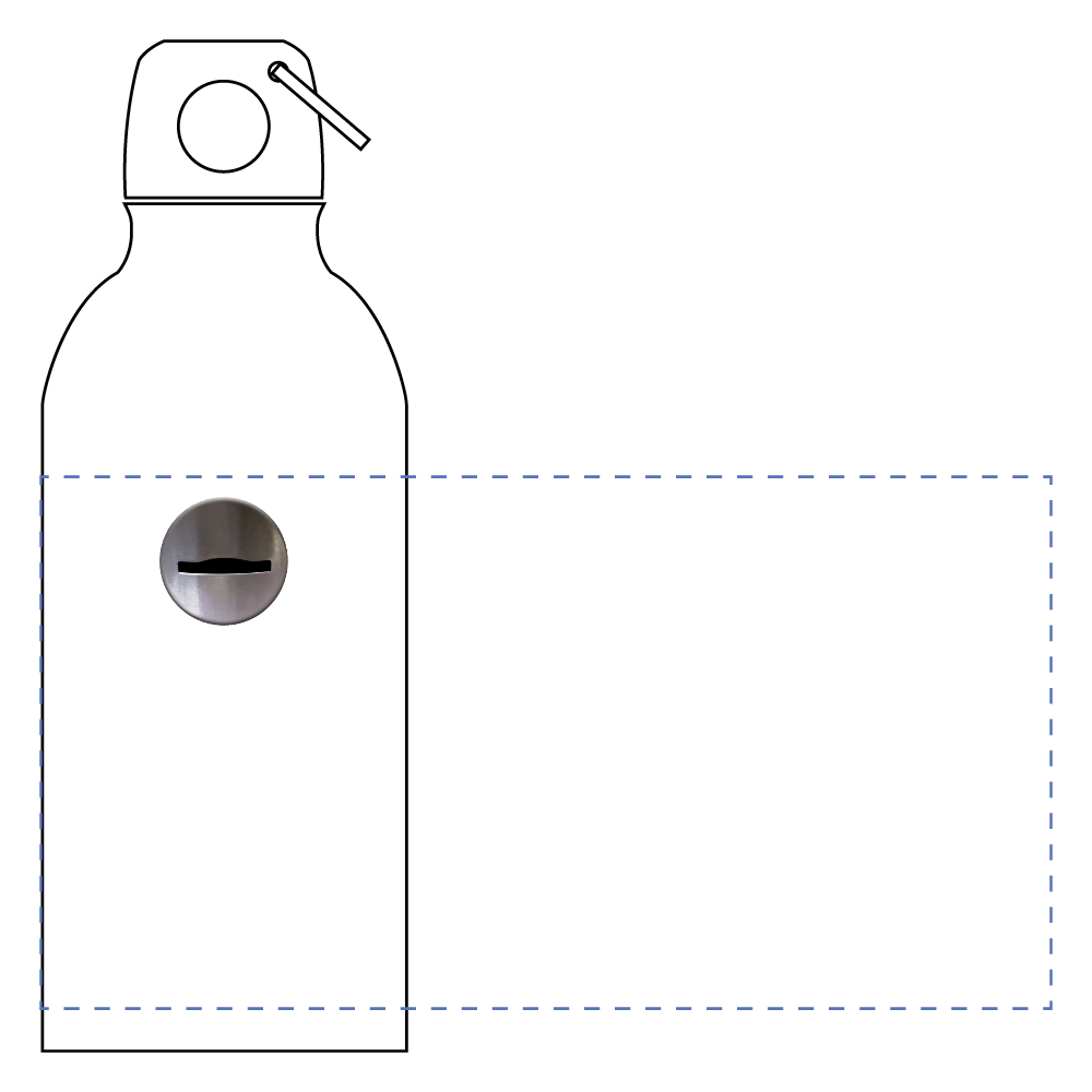 コイン投入口 ボトル アルミマウンテンボトル(400ml)