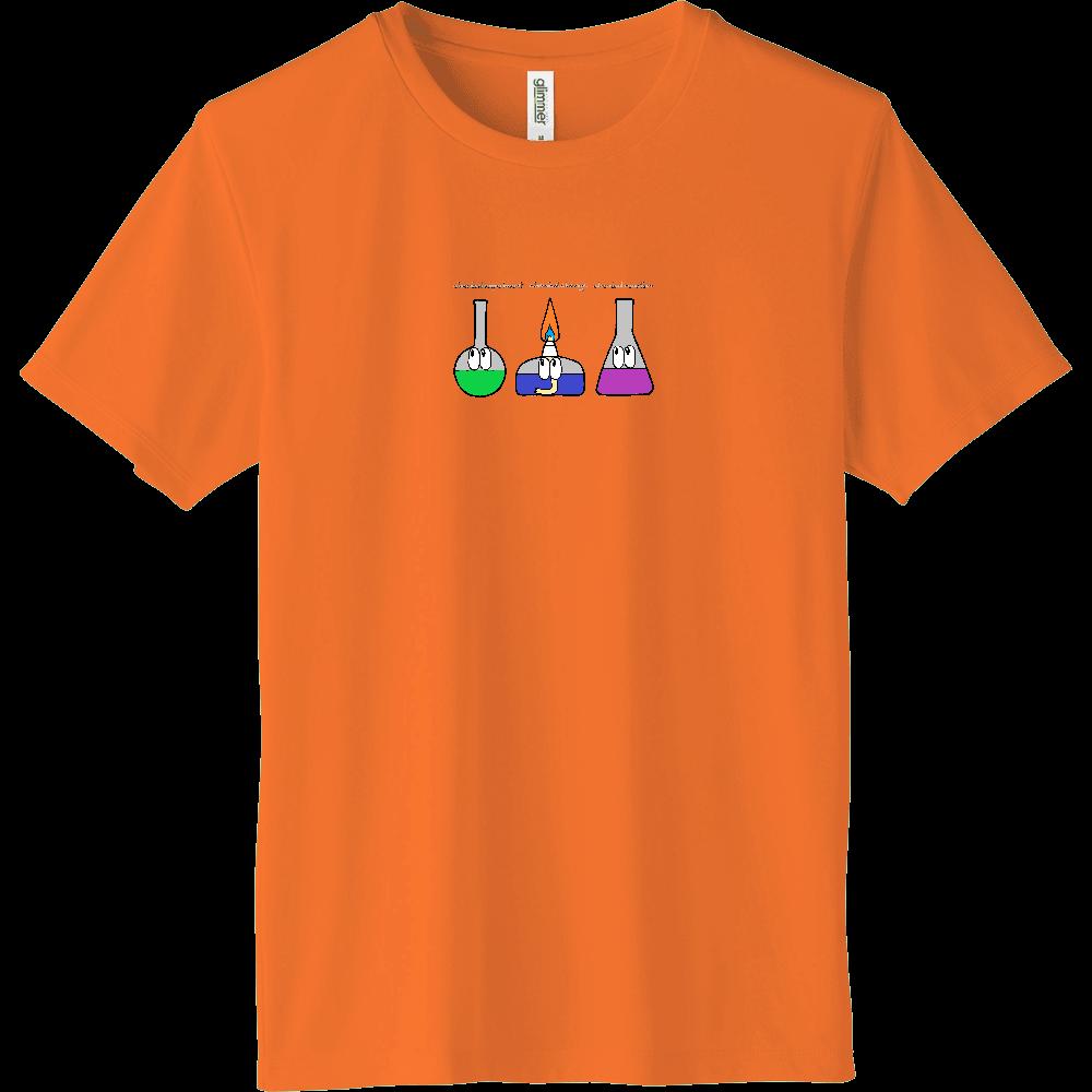 化学実験/モンスター インターロックドライTシャツ