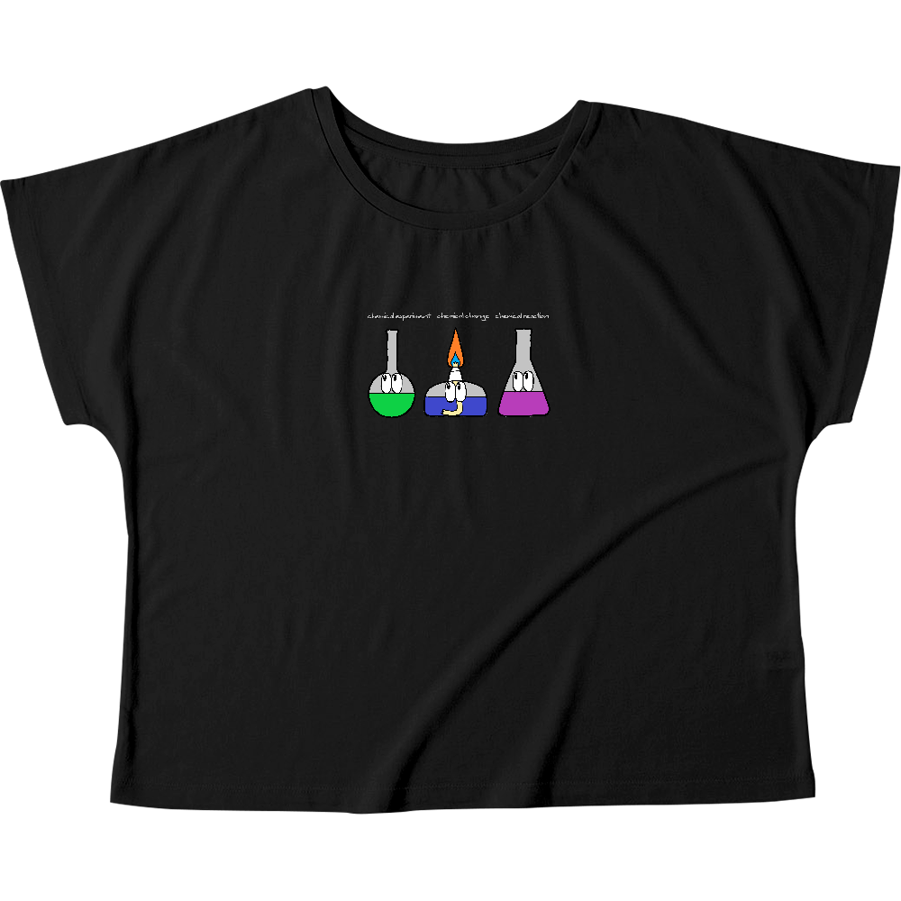 化学実験/モンスター ウィメンズ ドルマン Tシャツ