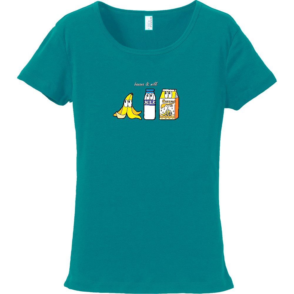 バナナミルク/モンスター フライスTシャツ