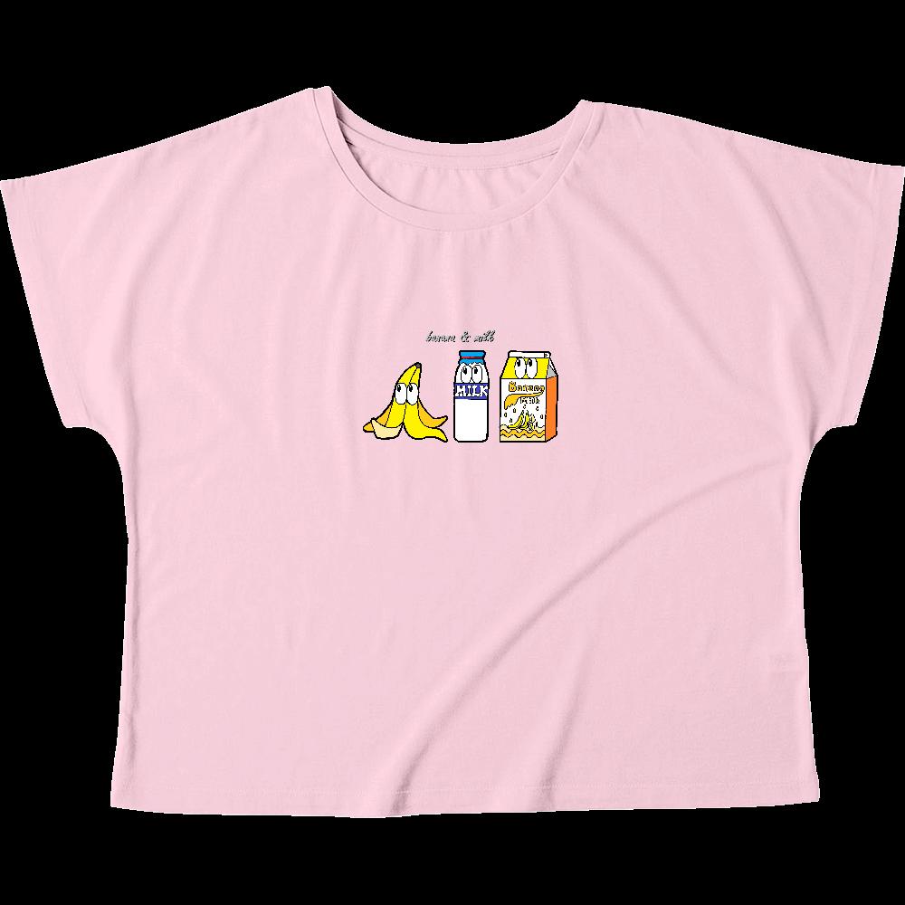 バナナミルク/モンスター ウィメンズ ドルマン Tシャツ