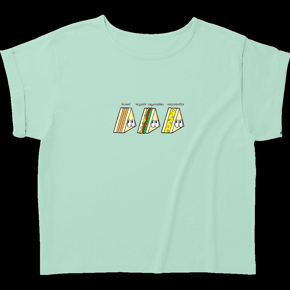 サンドイッチ/モンスター ウィメンズ ロールアップ Tシャツ