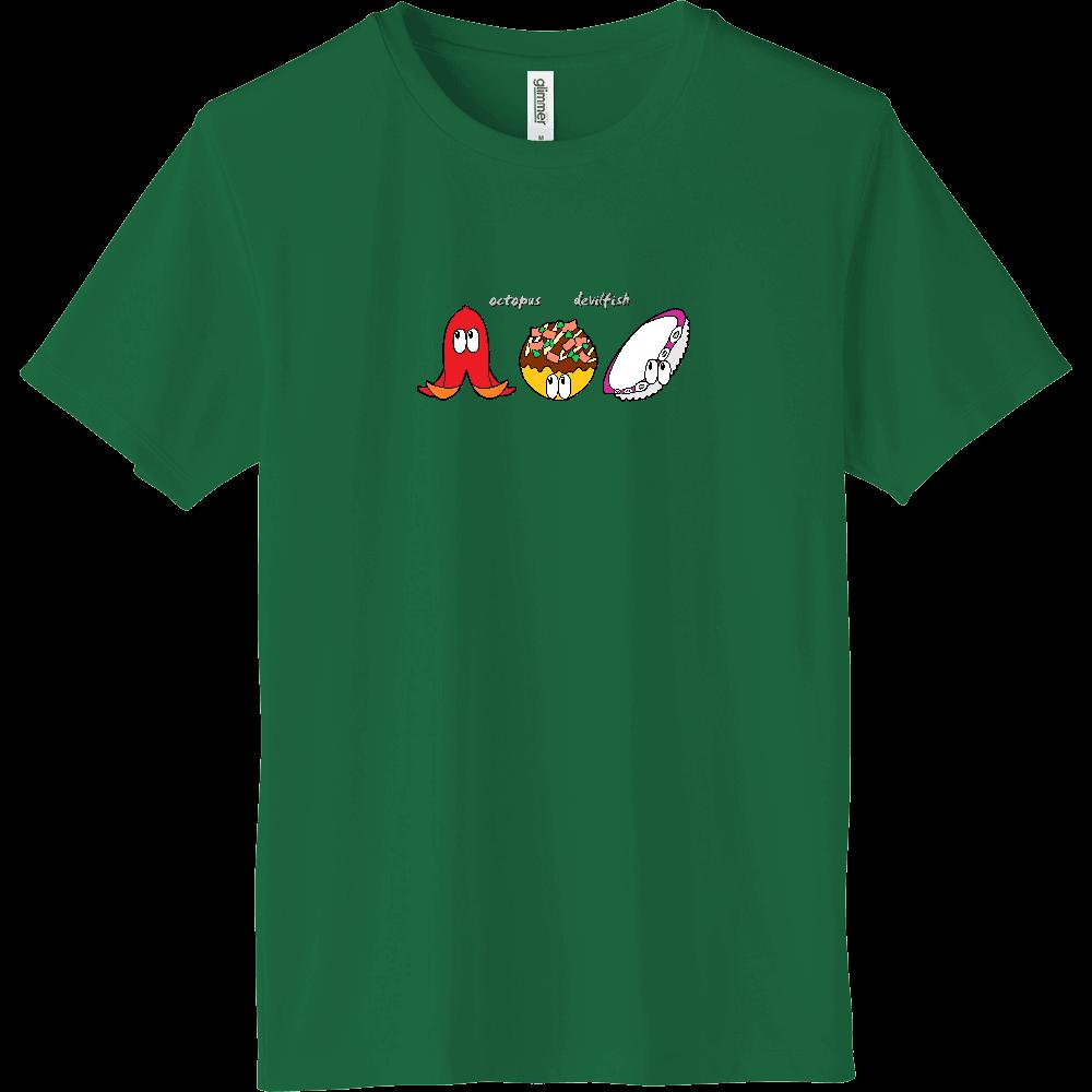 タコ/モンスター インターロックドライTシャツ