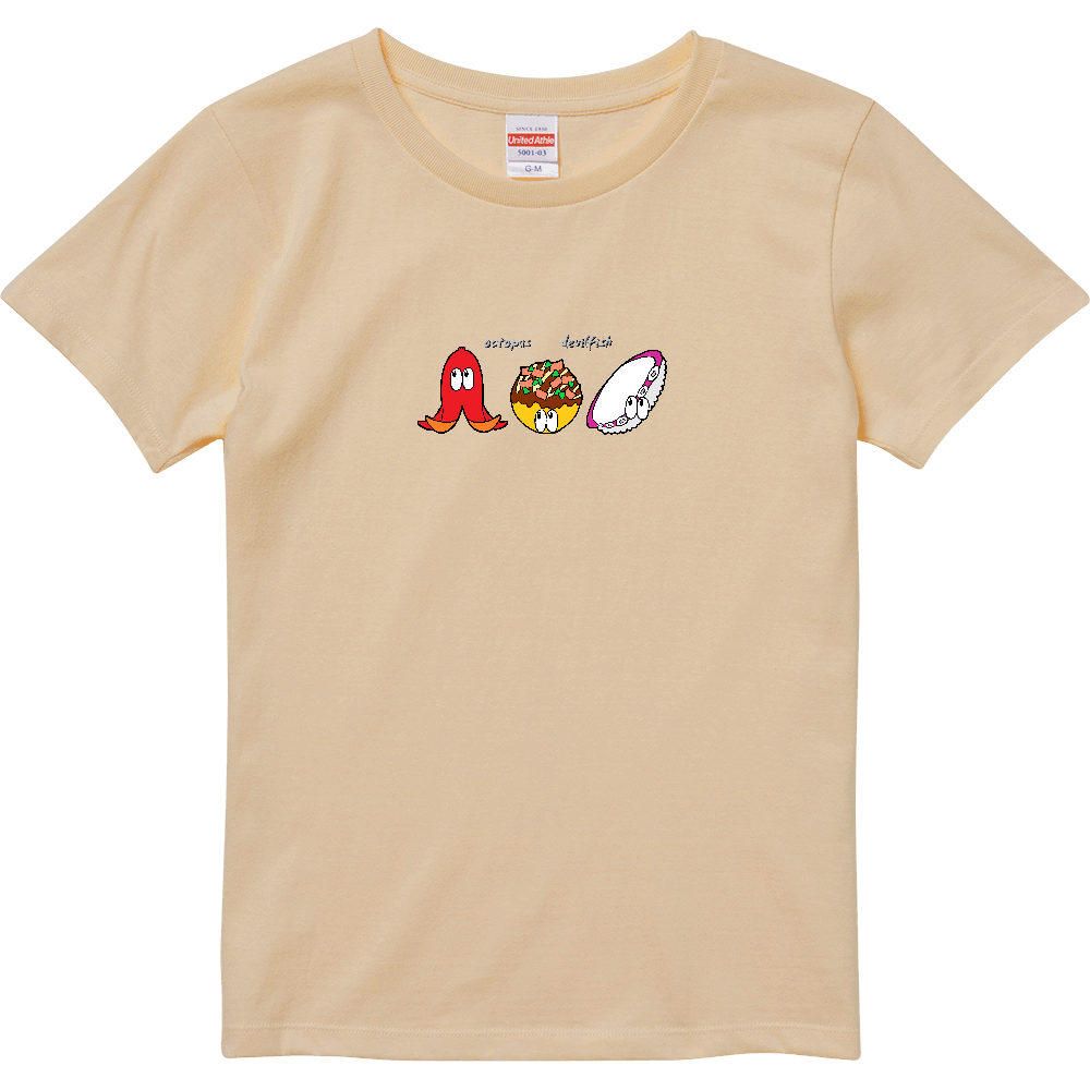 タコ/モンスター ハイクオリティーTシャツ(ガールズ)