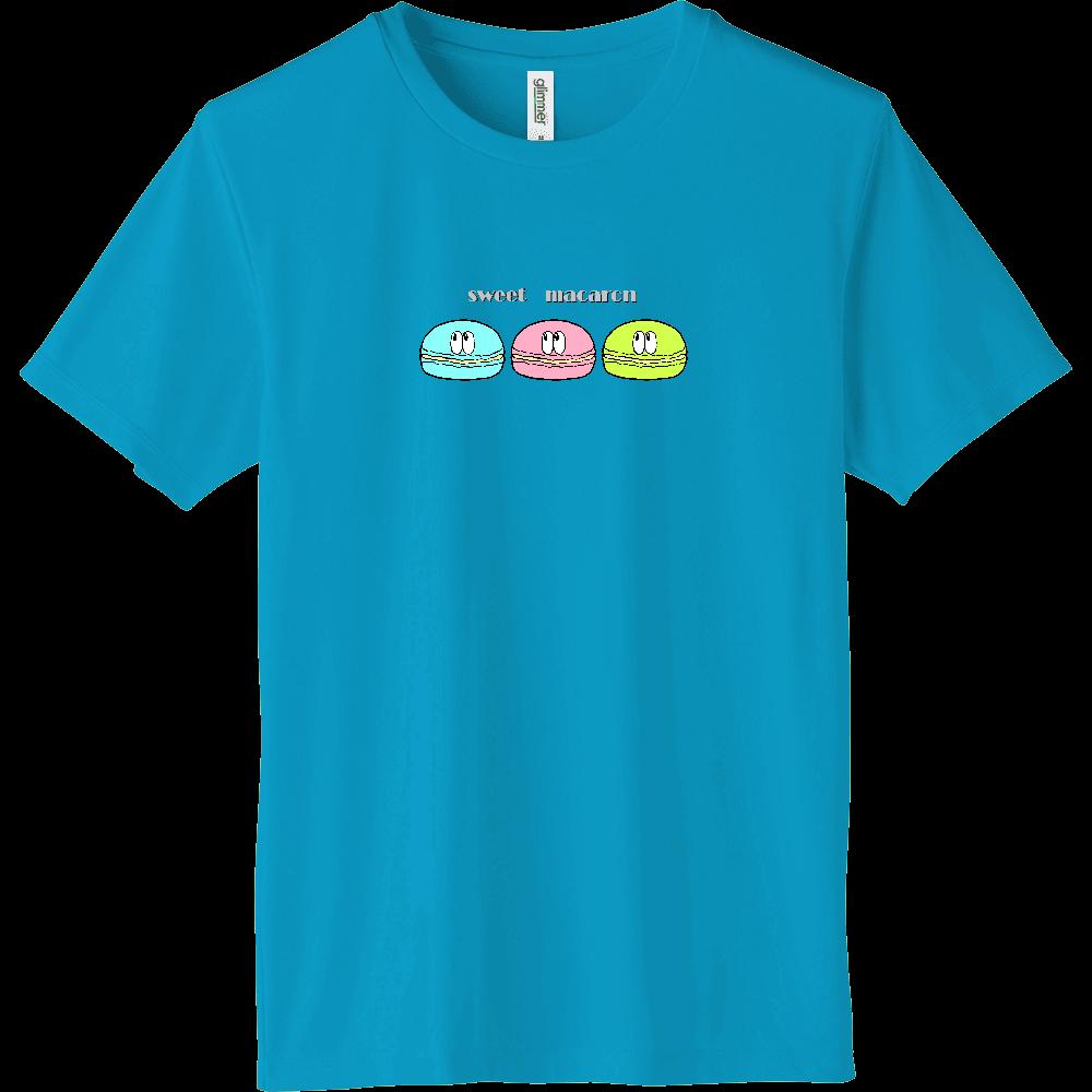マカロン/モンスター インターロックドライTシャツ