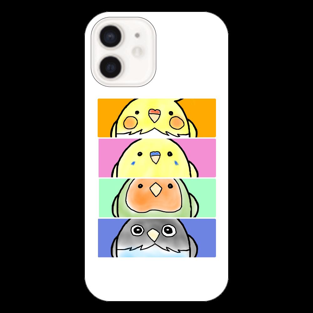 インコ ボタン オカメ コザクラ隊 iPhone12