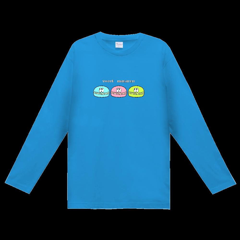 マカロン/モンスター ヘビーウェイト長袖Tシャツ