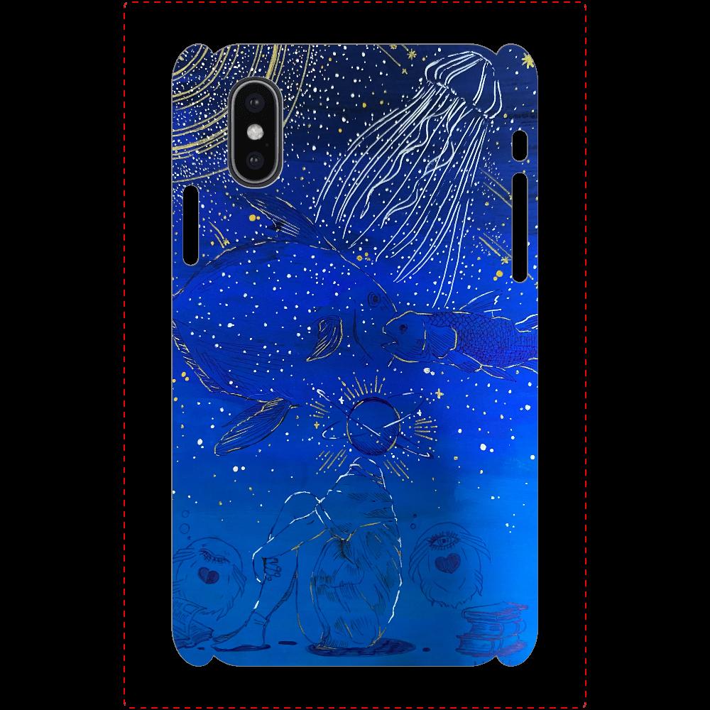 深蒼-deep blue- iPhoneX/Xs