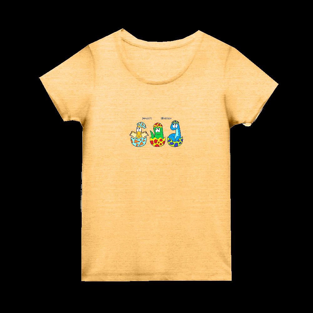 恐竜/モンスター トライブレンド ウィメンズ Tシャツ