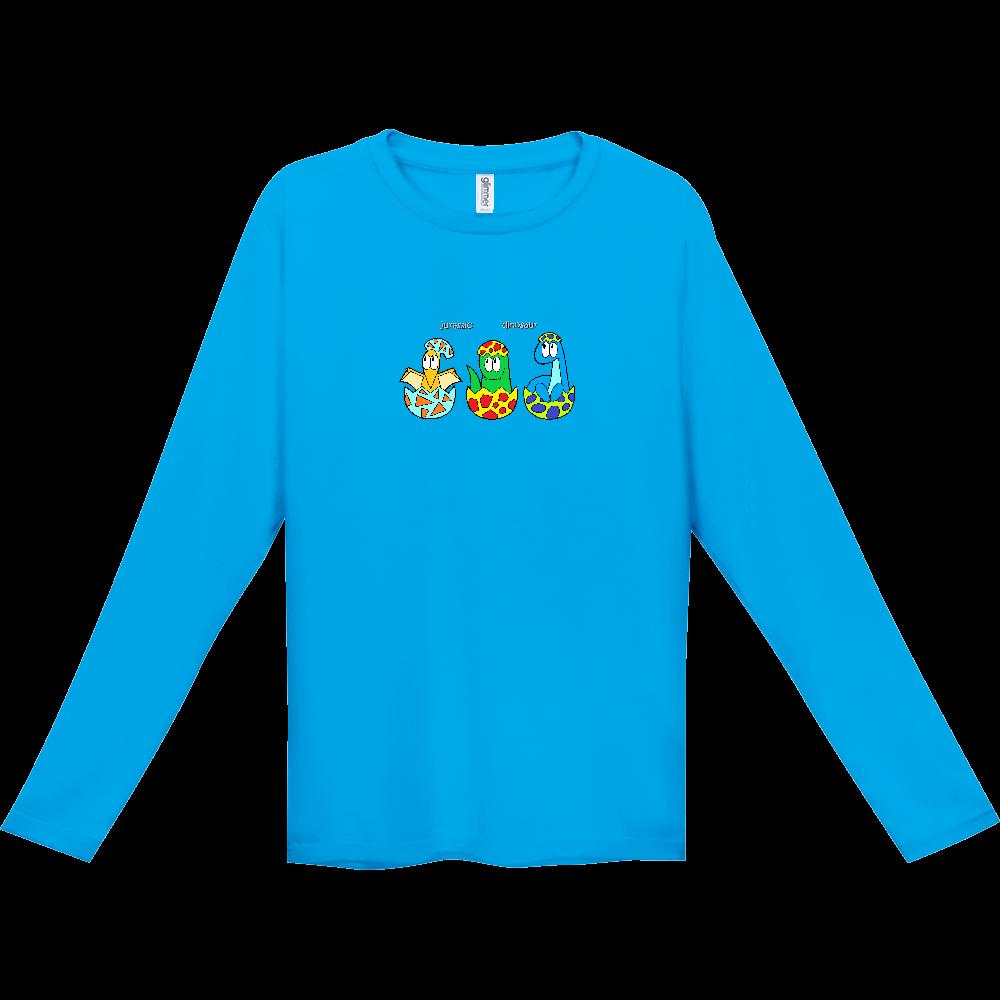 恐竜/モンスター インターロック ドライ長袖Tシャツ