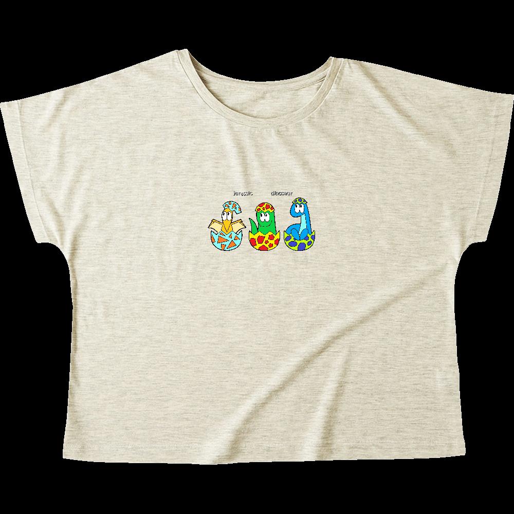 恐竜/モンスター ウィメンズ ドルマン Tシャツ