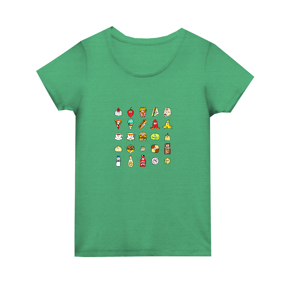 フード&ドリンク/25モンスターズ トライブレンド ウィメンズ Tシャツ