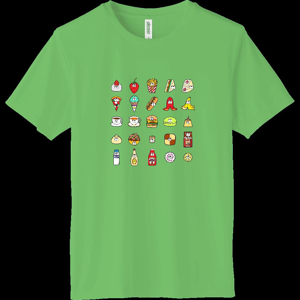 フード&ドリンク/25モンスターズ インターロックドライTシャツ
