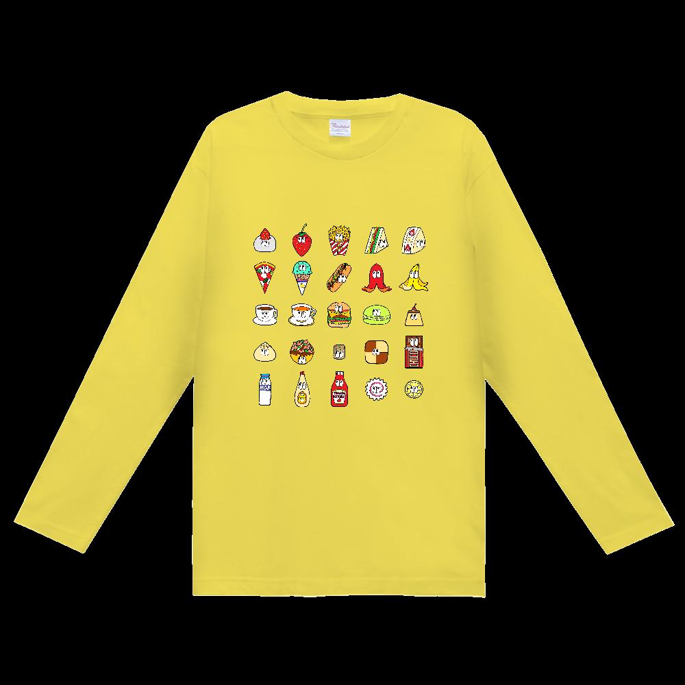 フード&ドリンク/25モンスターズ ヘビーウェイト長袖Tシャツ