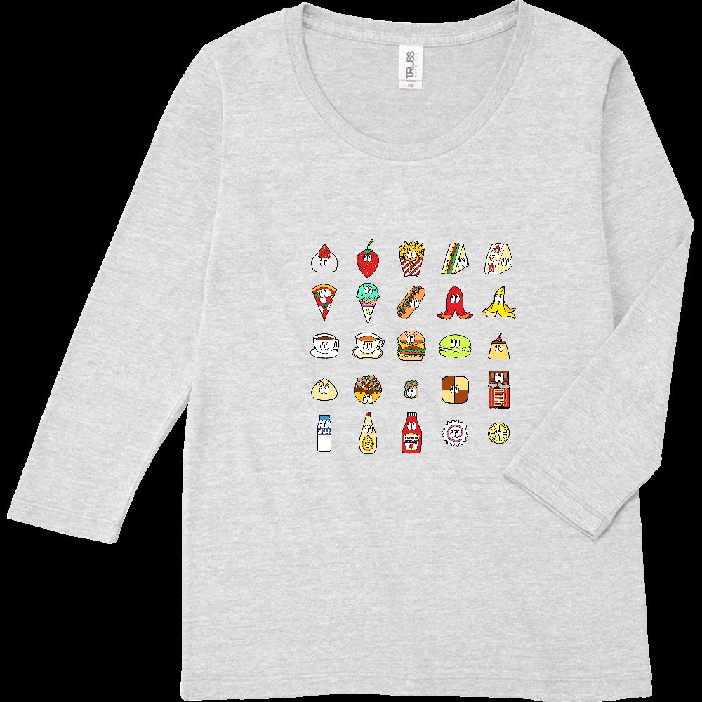フード&ドリンク/25モンスターズ トライブレンド7分袖レディースTシャツ