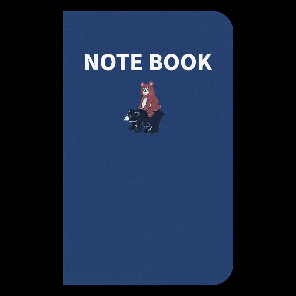 bear on bear ハードカバーノートブック ハードカバーミニノート(罫線)