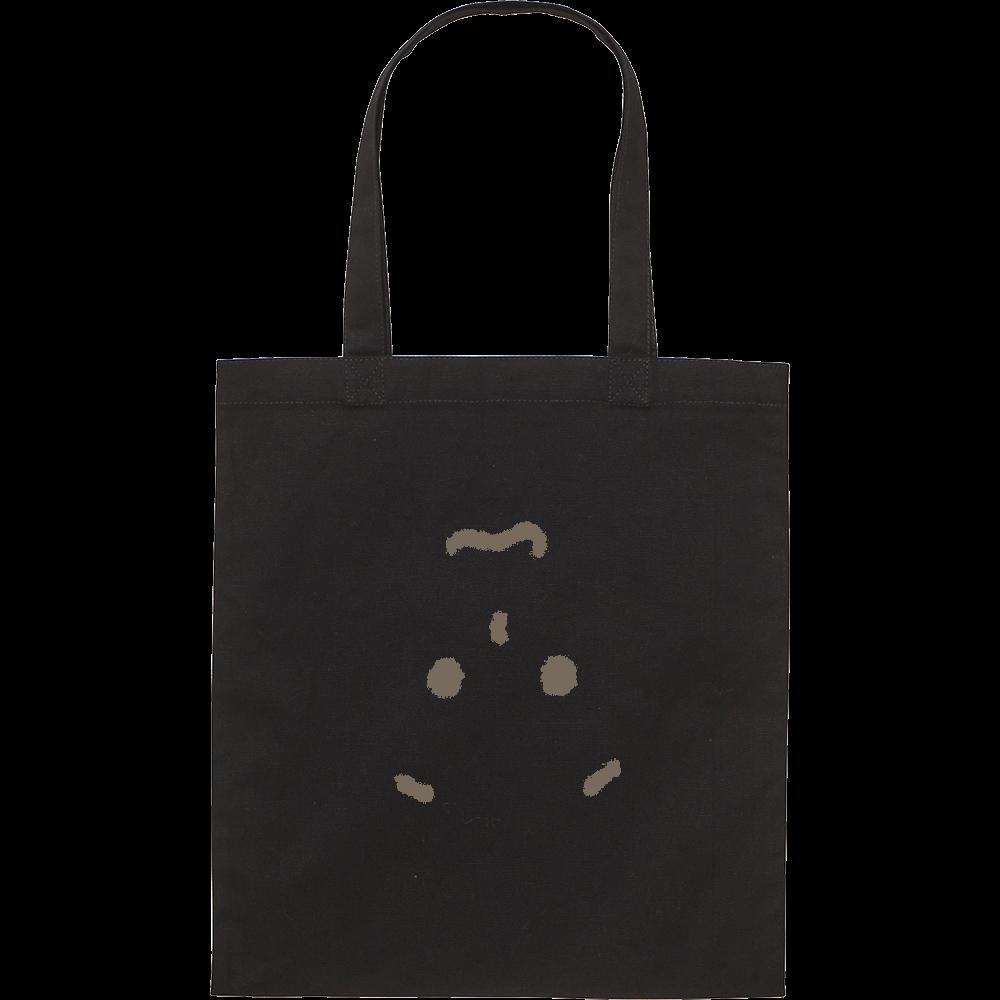 顔出しNG-1 スタンダードキャンバスフラットトートバッグ(M)