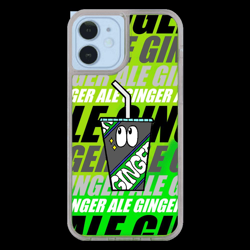 ジンジャーエール/モンスター iPhone12/12pro ネオンサンドケース