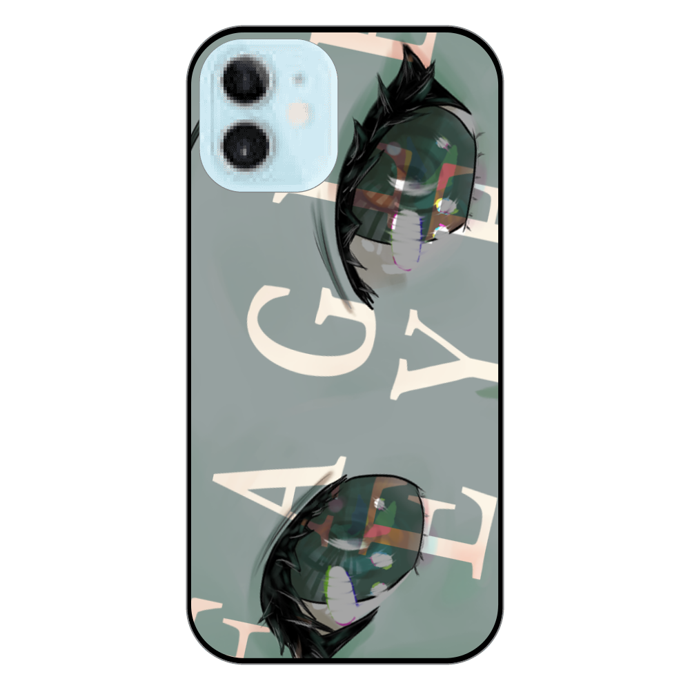 iPhone12 mini カバーケース 「雌鷹の眼」 iPhone12 mini