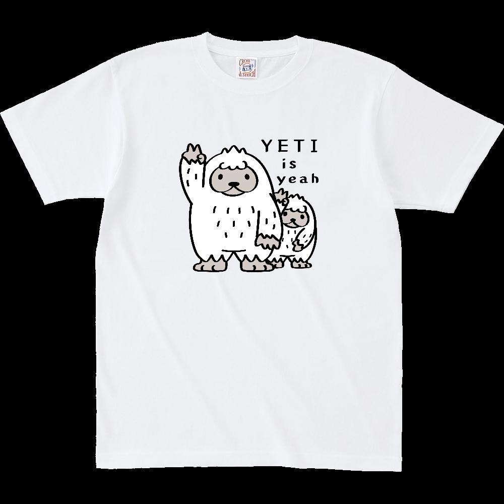 CT94 YETI is yeah*A オープンエンド マックスウェイト Tシャツ(キッズ)