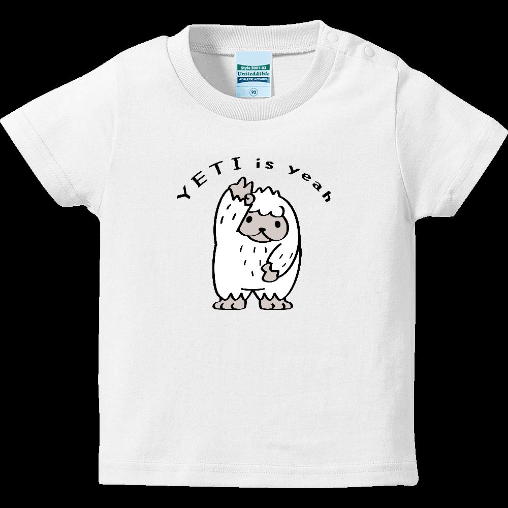 CT104 YETI is yeah*Aキッズ ハイクオリティーベビーTシャツ