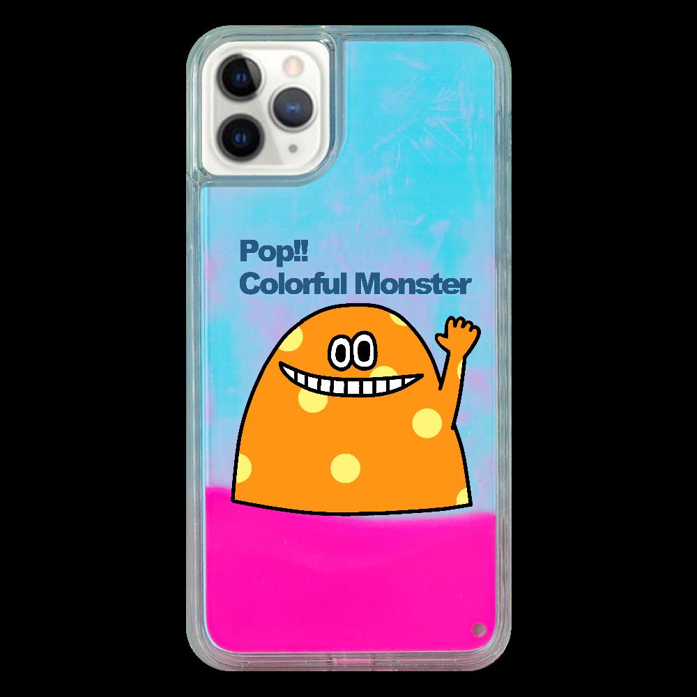 ポップ!!カラフルモンスターvol.2 iPhone11 ProMax ネオンサンドケース
