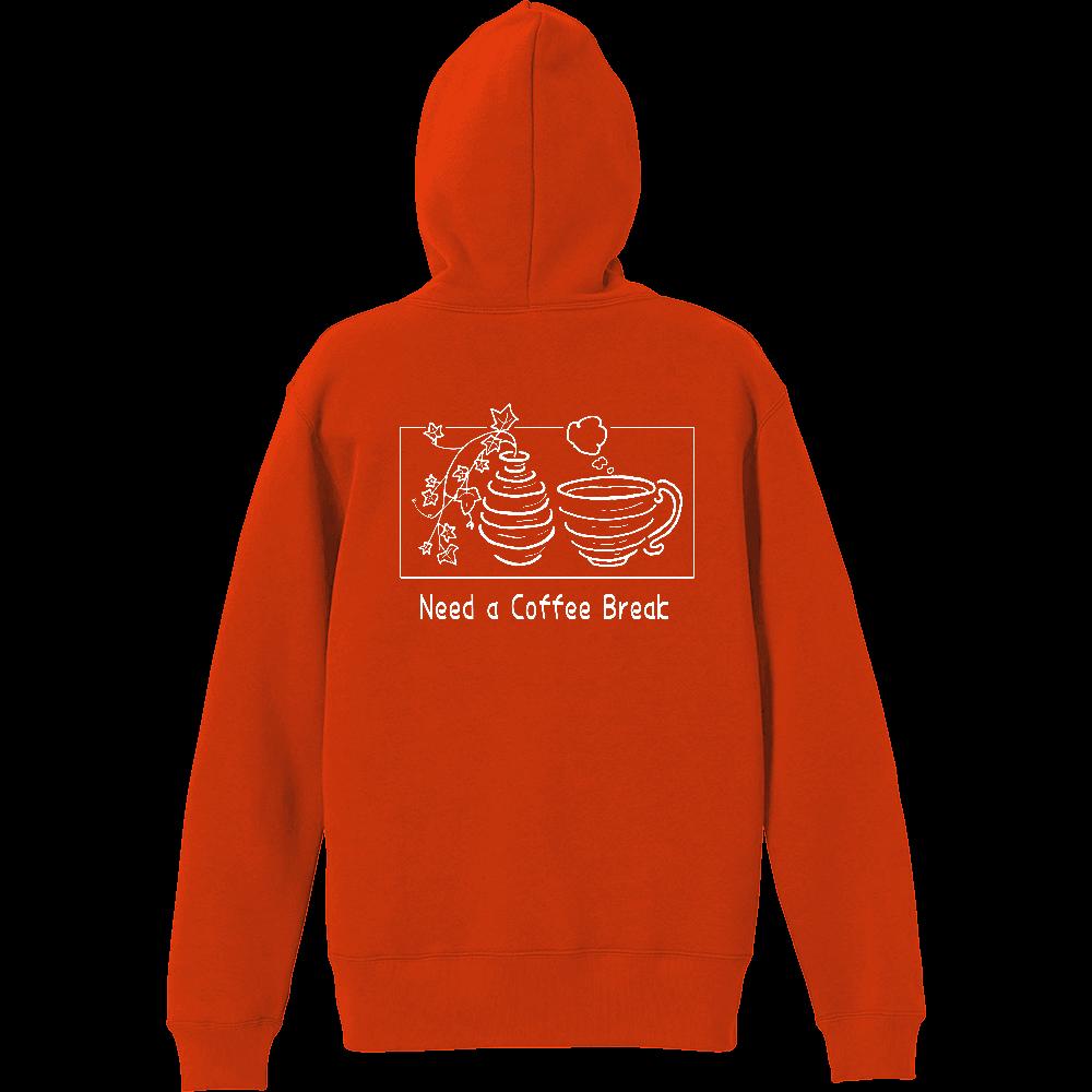 Need A Coffee Break T/C スウェット プルオーバー パーカ