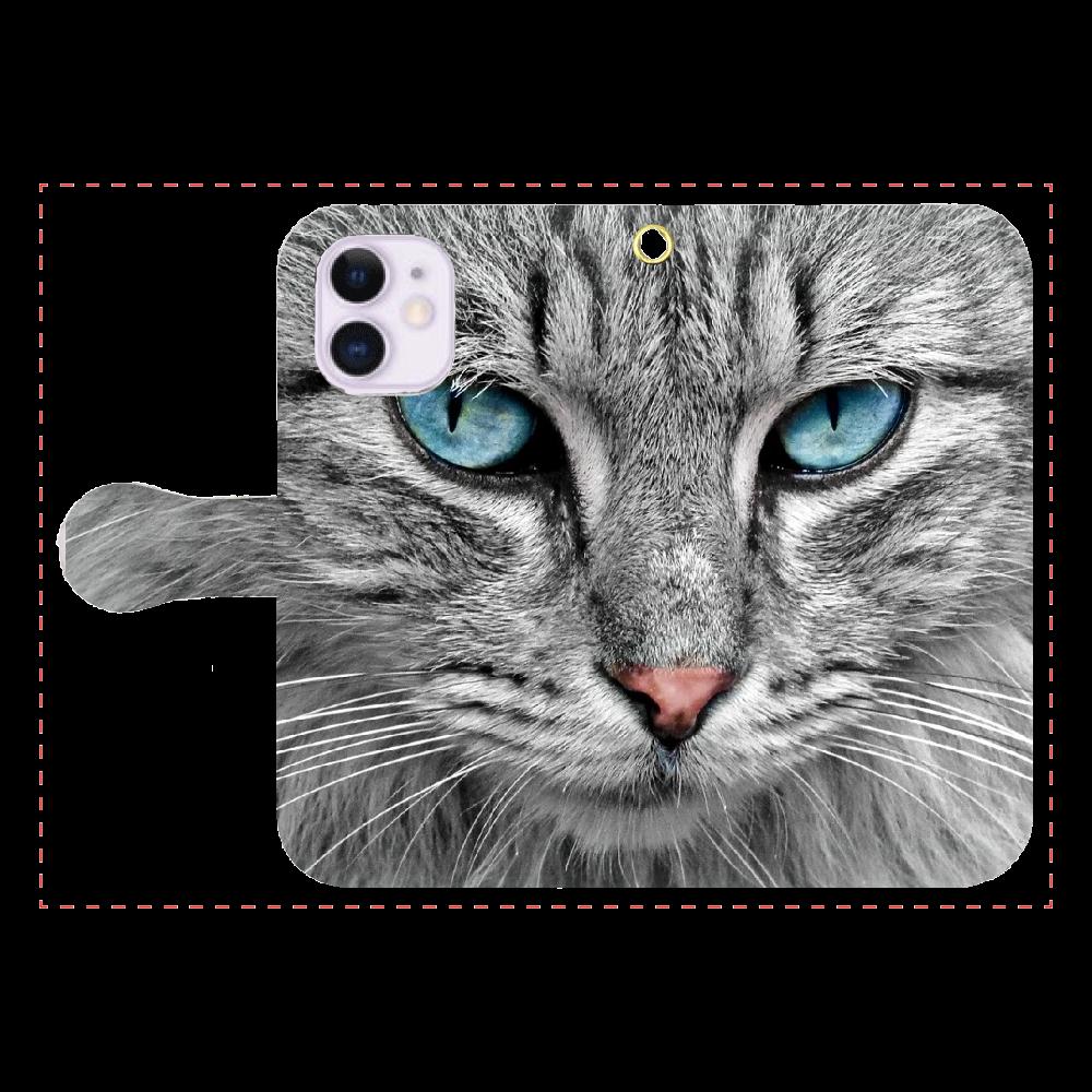 「2021年2月15日 19:10」に作成したデザイン iPhone12mini 手帳型スマホケース