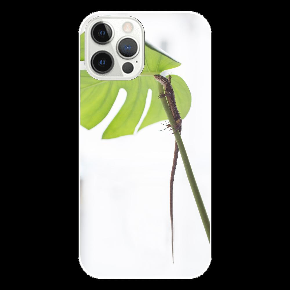 爬虫類Love/カナヘビ/ipnoneケース/スマホケース/トカゲ/可愛い/個性的/iPhone12 Pro iPhone12 Pro