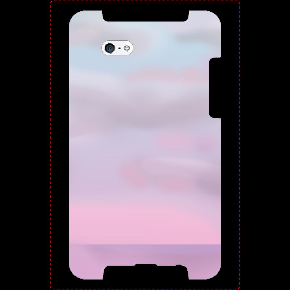 sunset sea iPhone5/5s/SE_ミラーケース