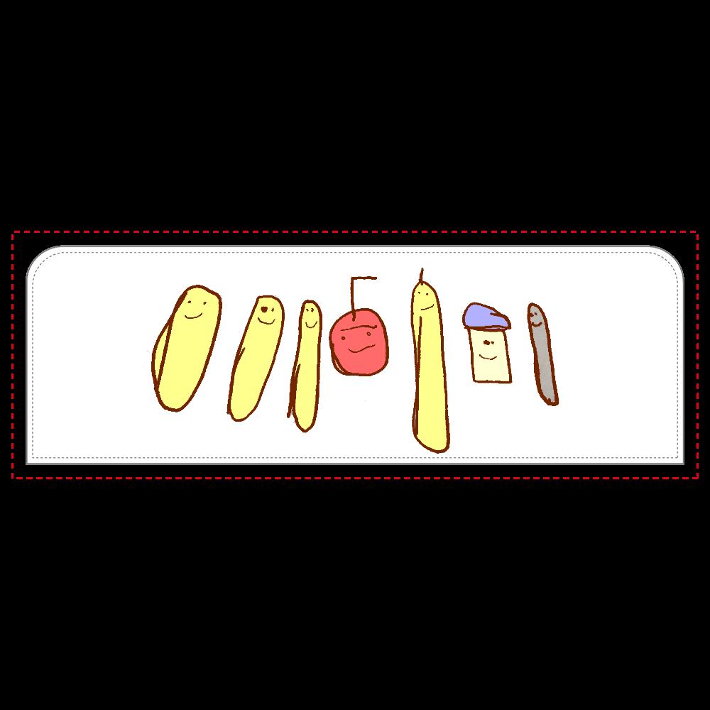 リンゴとバナナのペンケース ペンケース