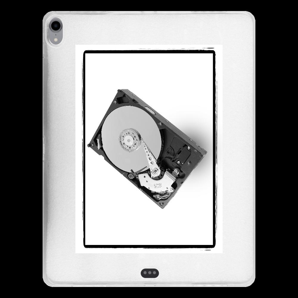 ハードディスク/HDD/グラフィック/カジュアル/理系iPad Pro 12.9インチ(2018年モデル) タブレットケース iPad Pro 12.9インチ(2018年モデル) タブレットケース