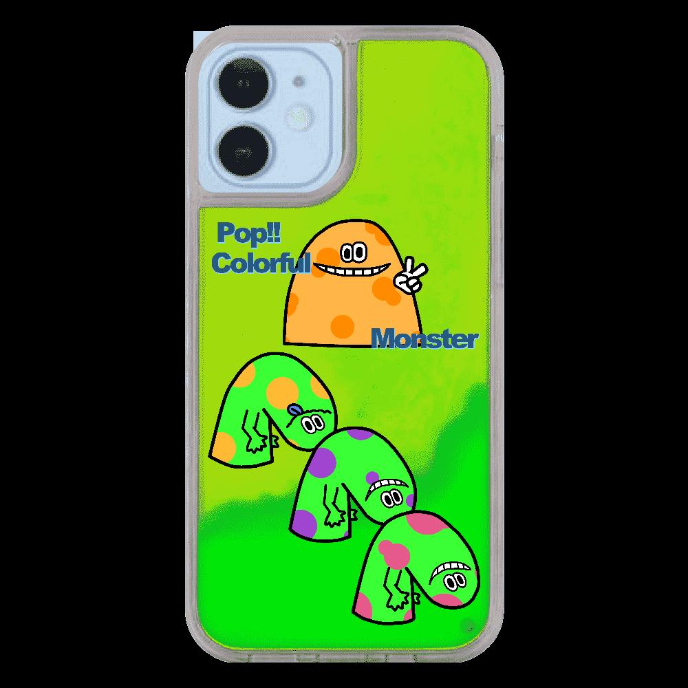 ポップ!!カラフルモンスターvol.5 iPhone12/12pro ネオンサンドケース