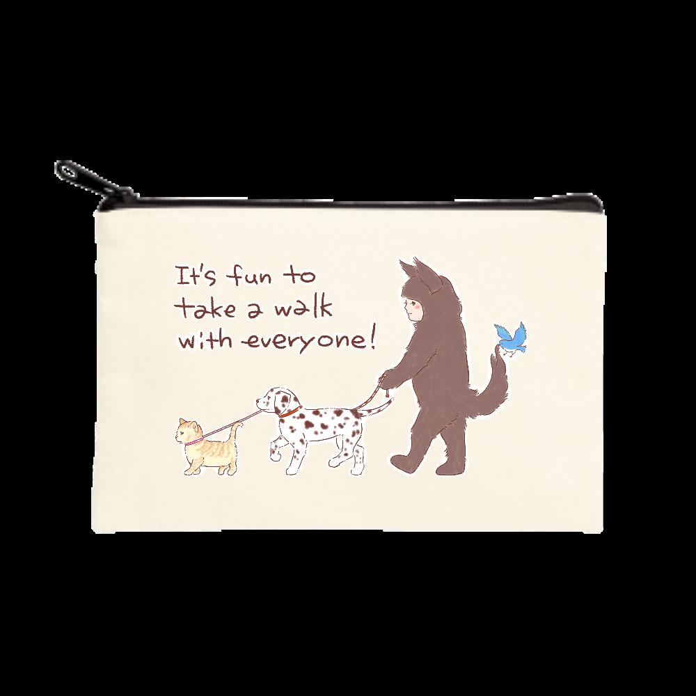 お散歩しよう! ポーチ(S)